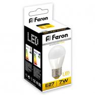LED Лампа  Feron LB-95 7W тепле світло